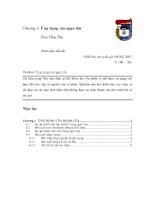 Nhiên liệu dầu khí - Chương 6