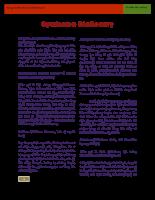 Từ điển hội chứng y khoa