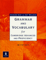 Longman-Grammar and Vocabulary for Cambridge Advanced and Proficiency (2)