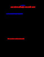 Giáo Trình Công Nghệ Chế Tạo Máy - Chương 6