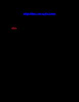 Đề thi vào ngân hàng - Kế toán Agribank