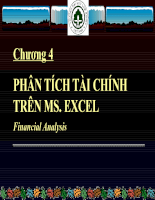 Tin học ứng dụng trong ngành kế toán Chương 4