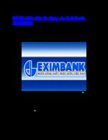 Đề thi nhân viên tín dụng Eximbank 2010
