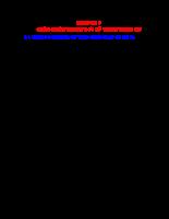 Chẩn đoán trạng thái kỹ thuật ô tô - Chương 9