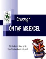 Tin học ứng dụng trong ngành kế toán chương 1
