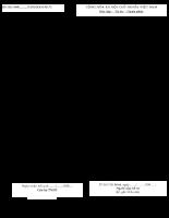 Bảng kê hồ sơ Giải quyết chế độ hưu trí 606
