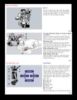 Khái quát về động cơ diesel 4 kỳ
