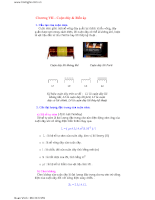 Điện tử cơ bản và tổng hợp các mạch điện cơ bản nhất - Chương 7,8
