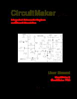 Hướng dẫn sử dụng phần mềm CircuitMaker - 1