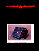 Năng lượng mặt trời Lý thuyết và Ứng dụng - Chương 4.4