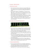 Tổng quan về máy vi tính - Chương 5