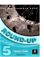 English Grammar Book - Round-UP 5 - Teachers Guide