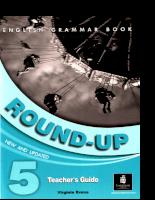 English Grammar Book - Round-UP 5 - Teachers Guide