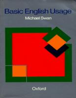 Oxford University Press Oxford-Basic English Usage