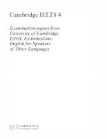 Cambridge IELTS4.01