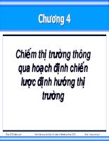 Bài giảng quan tri marketing 04