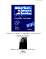 Barrons's American Accent Training