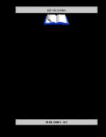 Ôn tập thi kiểm toán, kế toán viên – Q1 – Chuyên đề 1