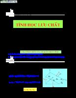 Giáo trình cơ lưu chất - P2