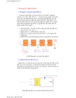 Điện tử cơ bản và tổng hợp các mạch điện cơ bản nhất - Chương 11,12