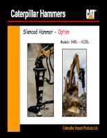 Búa phá đá Caterpillar lắp trên máy đào - P4