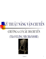 Kỹ thuật nâng - vận chuyển - Chương 6