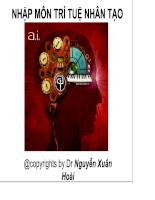 Nhập môn trí tuệ nhân tạo