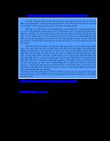 Giáo trình khí tượng nông nghiệp - Chương II