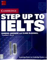 Cambridge -STEP.UP.TO.IELTS.Teacher's.Book(2004)