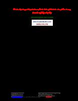 kế toán tập hợp chi phí sản xuất & tính giá thành sản phẩm trong doanh nghiệp xây lắp.doc