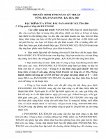 Thuyết minh tính năng kỹ thuật tổng đài Panasonic KX-TDA 200