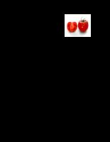 Nghiên cứu quy trình sản xuất nectar cà chua