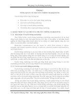 Tổng quan về truyền thông marketing Các nội dung chính trong chương này:  · Khái niệm và vai trò của truyền thông marketing