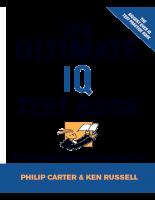 Đề thi vào ngân hàng - The Ultimatel IQ Test Book