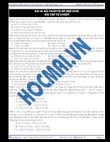 Tài liệu ôn tập 9: bài toán về hỗn hợp este