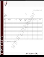 Mẫu Danh mục tài liệu nội bộ của Nhà trường