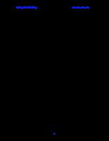 Công nghệ sản xuất nước mắm - dấm
