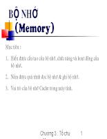 Cấu trúc máy tính và ASM - Chương 4