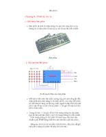 Giới thiệu về bàn phím
