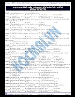 Bài 28: Phương pháp phân biệt các hợp chất vô cơ