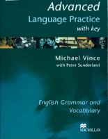 Advanced Langue Practise with key
