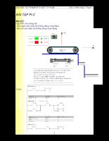 Bài tập PLC có mô phỏng
