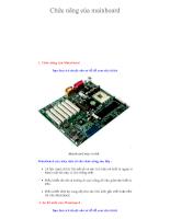 Tổng quan về máy vi tính - Chương 3