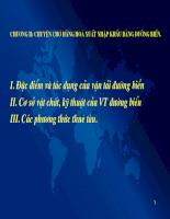 Tài liệu môn Vận tải và Giao dịch (2)