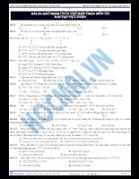 Bài 23: Xác định CTCT của các hợp chất hữu cơ