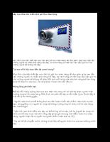 Lập mục tiêu cho chiến dịch gửi thư chào hàng