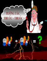 Tương tác thuốc - thuốc, thuốc - thức ăn (43 slide)