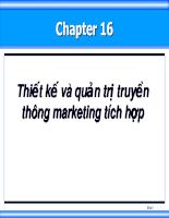 Bộ Slide Bài Giảng Quản Trị Marketing 16