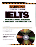 Barron how to Prepare for the IELTS