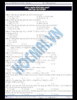 Bài 2: Phản ứng hóa học